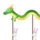 ウサギと辰の大行進