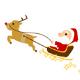 サンタがブログにやってくる